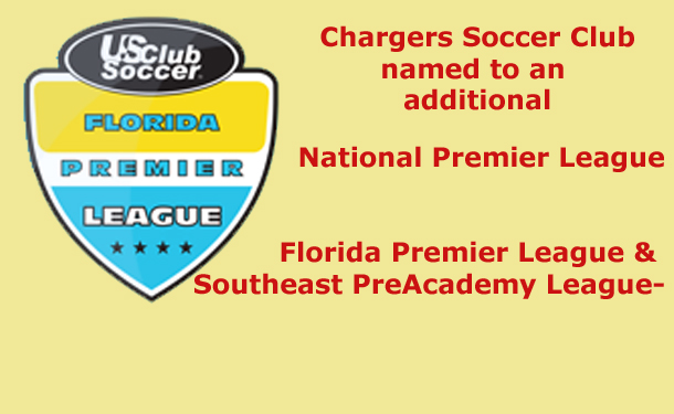Chargers SC Selected for National Premier League