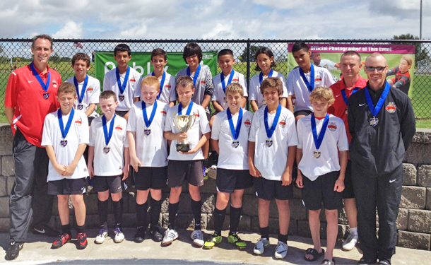 LWR U12 Boys White Chargers Win the Presidents Cup