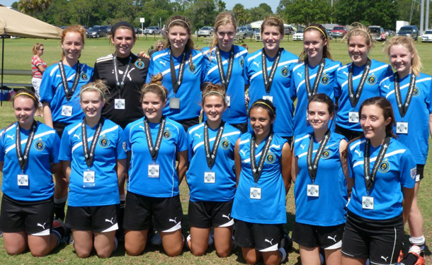 Charger Teams Have Great Success at Nike Champions Cup