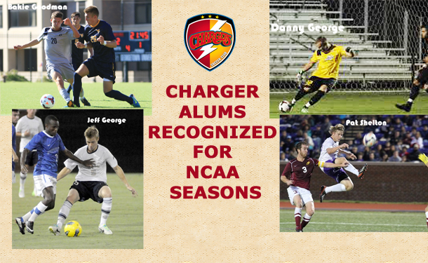 Charger Alums Recognized for NCAA Seasons