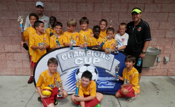 U10 Clearwater Boys Take Nike Cup Title