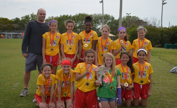 Clearwater U11 Girls Reach March Madness Final
