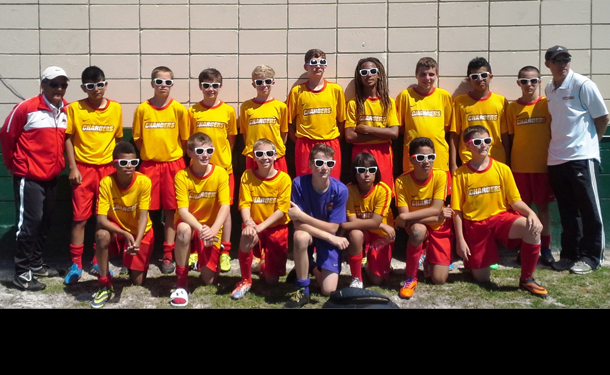 Clearwater Chargers U13 Boys State Cup Success
