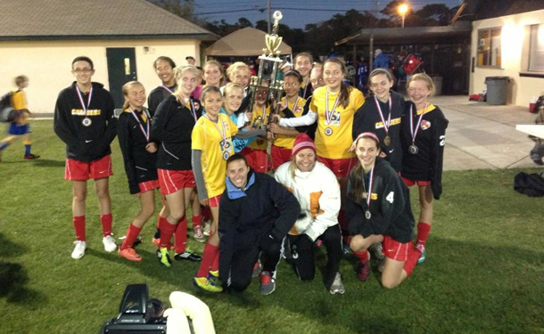 CLW U-14G Elite CDL Showcase Champions