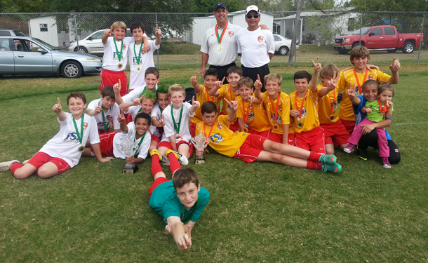 CLW U12b Red & Yellow Rule at Largo March Madness