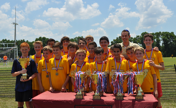 Chargers U13 NPL team wins Florida Cup