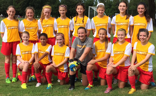 Clw U13g Finalist At Acdc Chargers Soccer Club