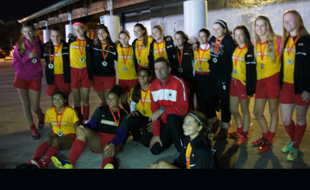 CLW U14g Champs At TBU Halloween In December
