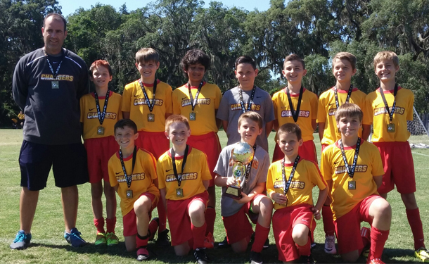 CLW U11b Red Team Adidas Cup Champs
