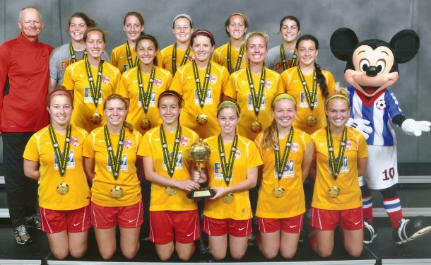 Clearwater U18 Girls Take Disney Crown