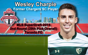 MLS SuperDraft Claims One Of Our Own!!