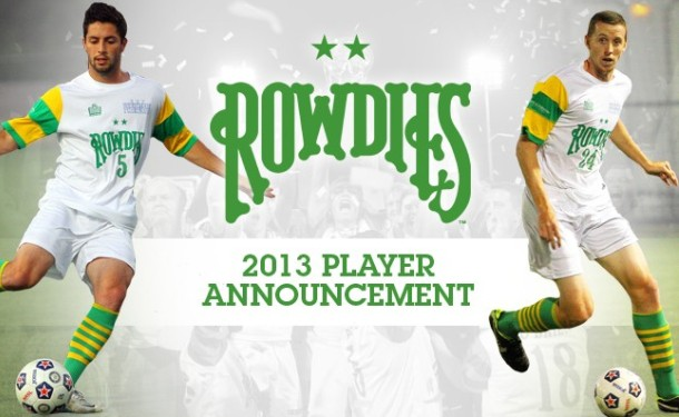 Chargers Coach Clinton Signs with Rowdies