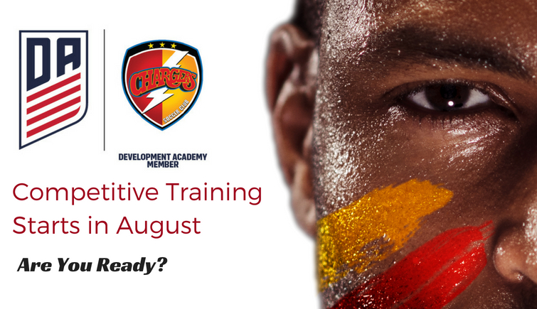 Competitive Training Starts in August