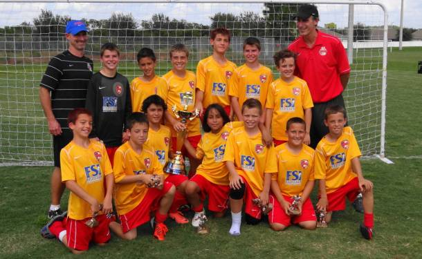 Lakewood Ranch U12 Boys Win Championship