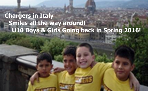Italy For Next Season's U10 Boys & Girls