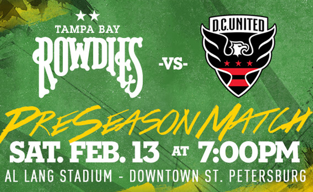 Rowdies vs. DC United