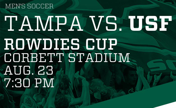 Rowdies Cup - University of Tampa vs. USF Men's Soccer