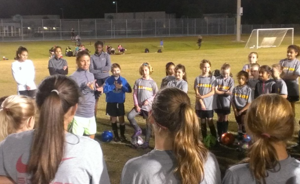 USF's Schilte-Brown Leads Chargers Clinic