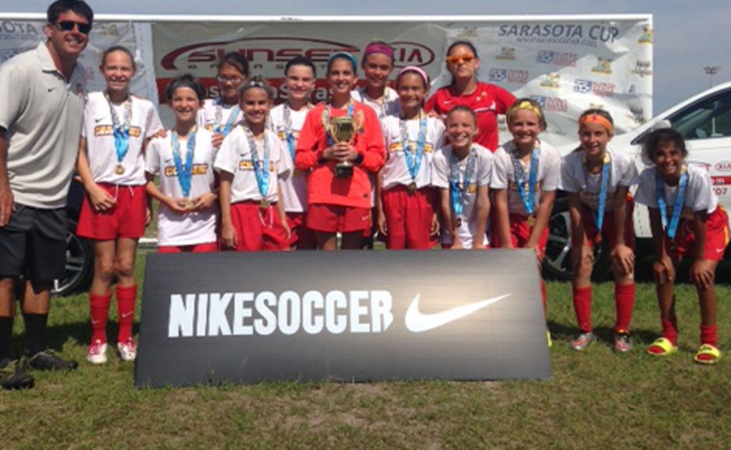 Tampa Chargers U11 Girls - Great Successes!!