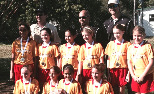 U11 Tampa Girls Take Largo Halloween Title