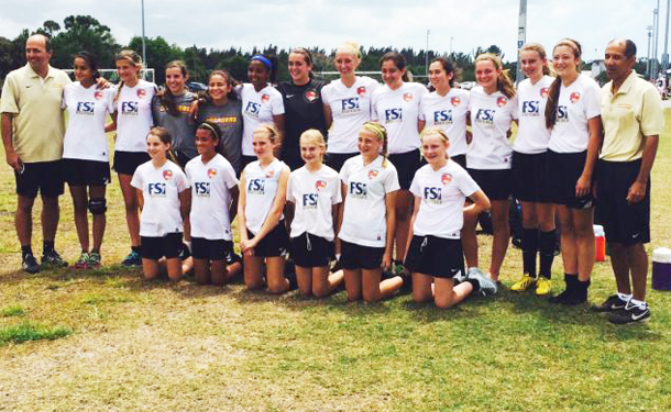Tampa Chargers U14G storm into State Cup Round of 16