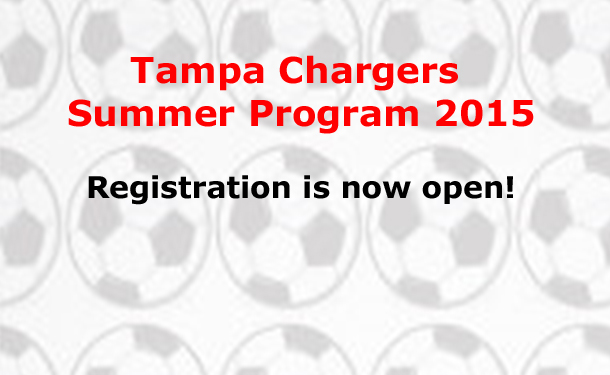 Tampa Chargers Summer Program 2015