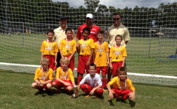 Clearwater U10 Boys Reach Fall Classic Finals