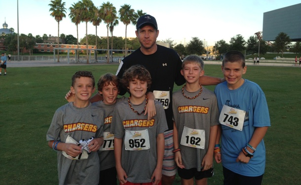 Tampa Chargers Run for a Cause