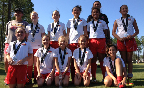 Congratulations to Coach Ljubo & the Rising U12g Chargers Clearwater!