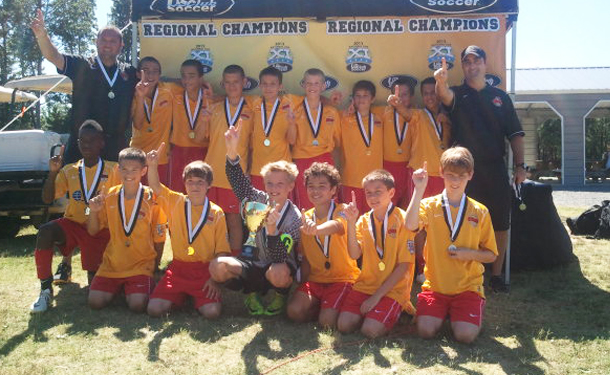 US Club Soccer National Cup Southeast Regional Champs!