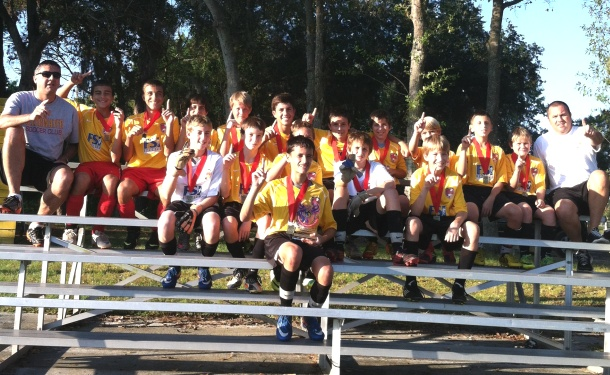 Clearwater U13 Boys Take ACDC Title