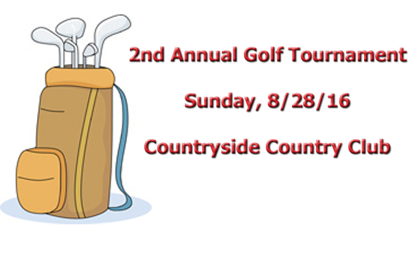 2nd Annual Golf Tournament (8/28/16)