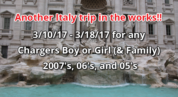 Another Italy Trip In the Works for 2017!!