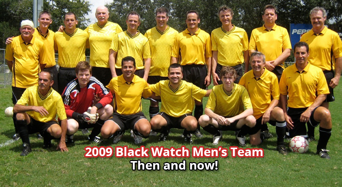 Black Watch Men's Team Over the Years