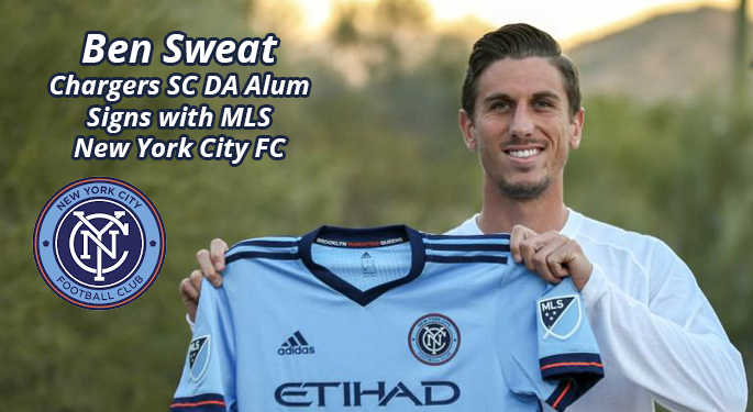 Ben Sweat Signs with MLS NYCFC
