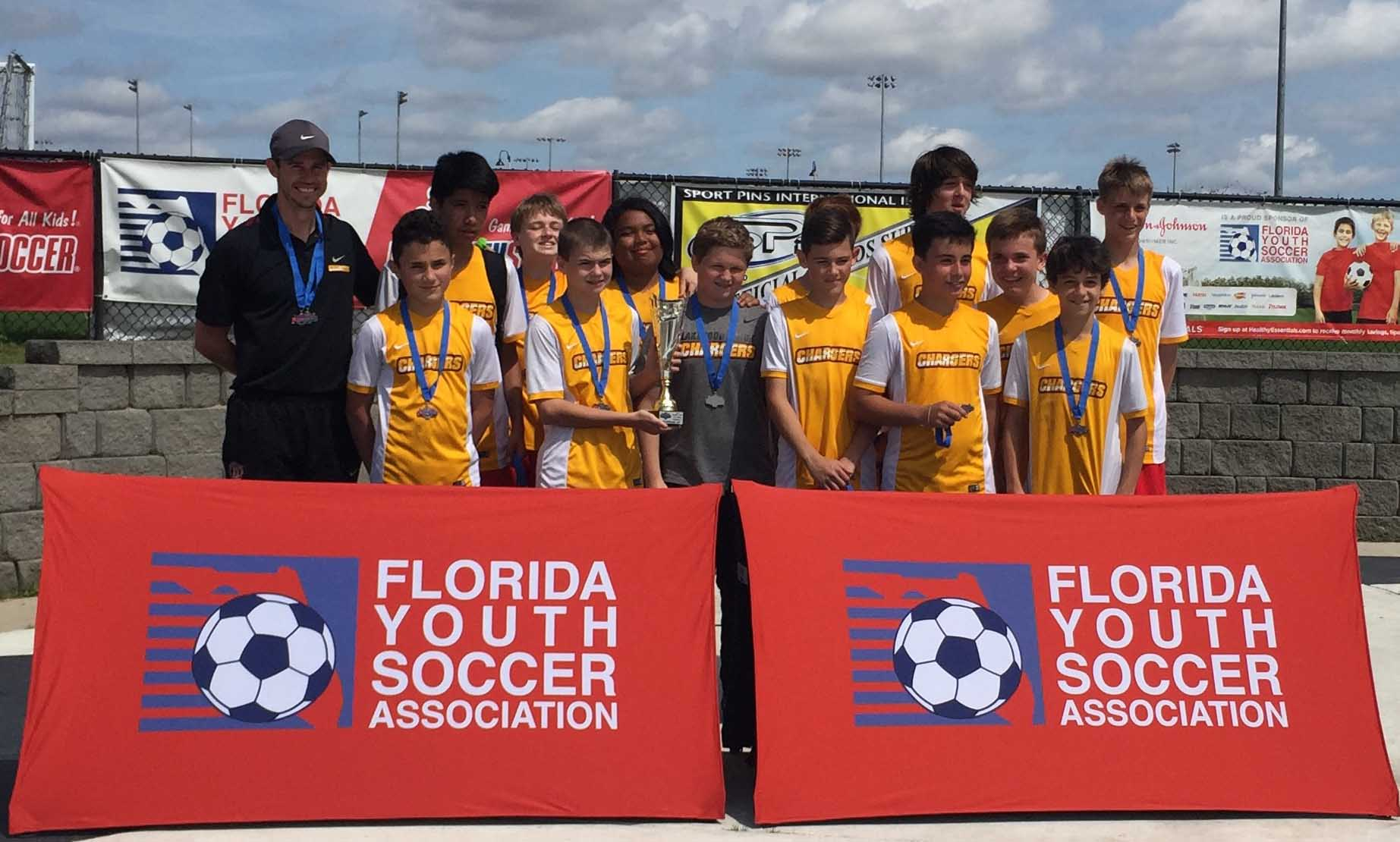 14B Region Cup D1 Runners-Up