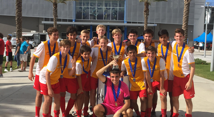 CLW U16b Select IMG Cup Champs