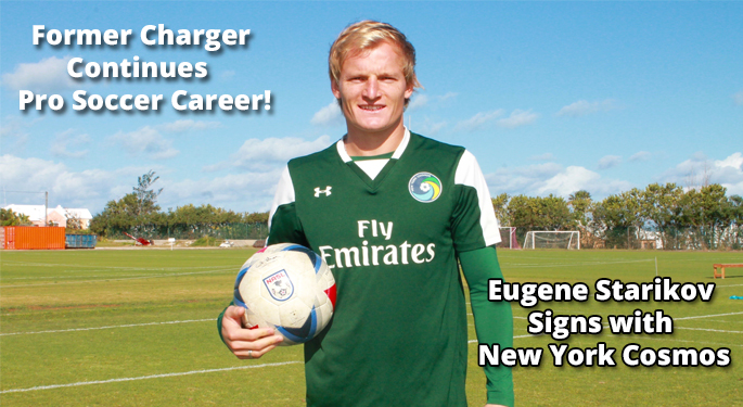 Eugene Starikov Signs with NY Cosmos