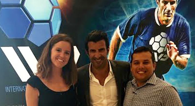 Coaches Jenay & Stanely with Figo