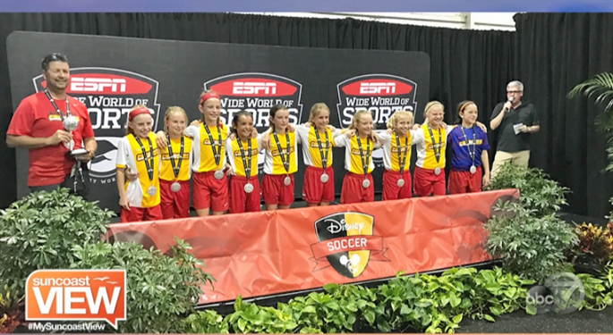 LWR U11g Finalists at Disney