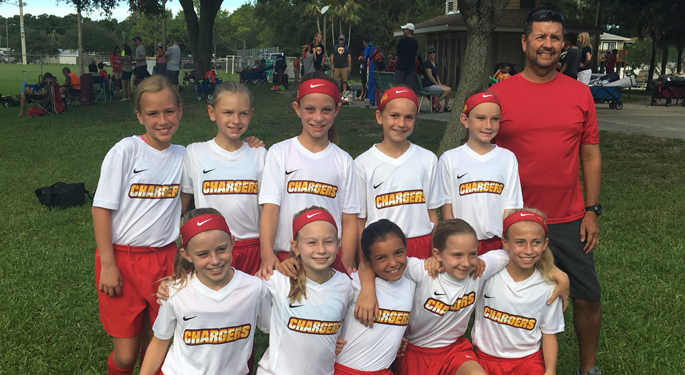LWR U11g 2nd Place Largo Halloween Tournament