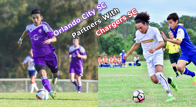 Chargers Soccer Club Partners With Orlando City SC