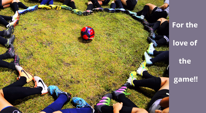 TPA U15g Show Love to Soccer