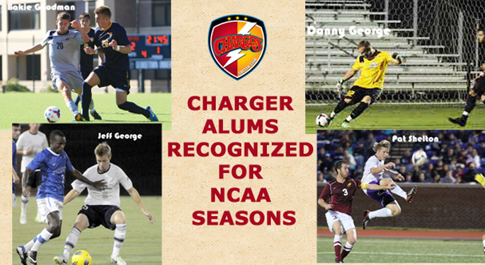 Alums Recognized for NCAA Seasons