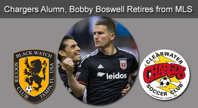Chargers Alumn, Bobby Boswell, Announces MLS Retirement
