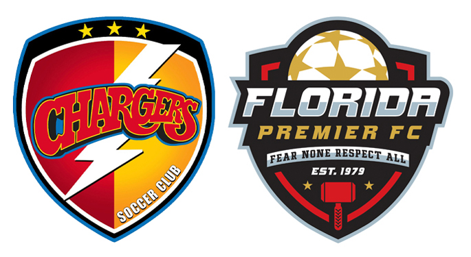 Chargers SC and Florida Premier FC Announce Collaboration