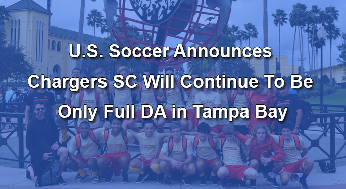 U.S. Soccer DA Announcement