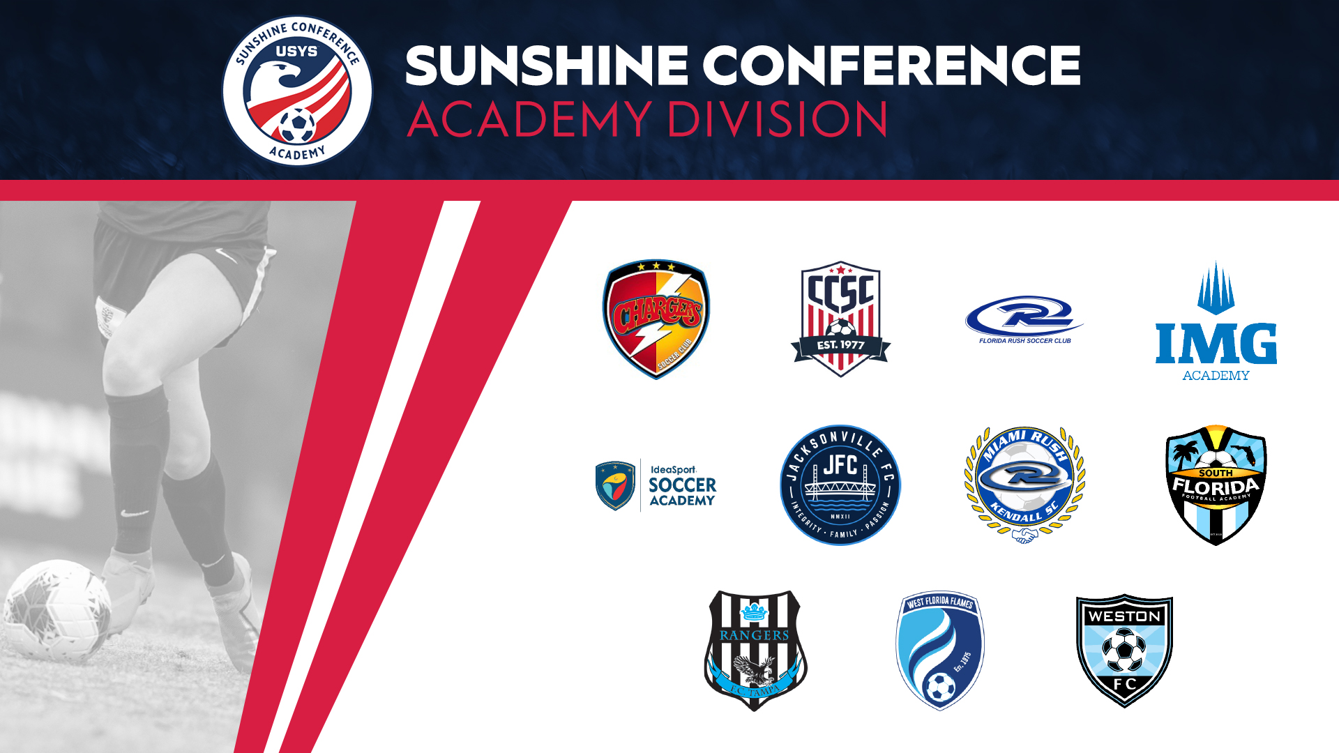 TOP CLUBS SET TO PARTICIPATE IN SUNSHINE CONFERENCE ACADEMY DIVISION