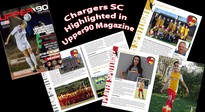Chargers SC Featured in Upper 90 Mag