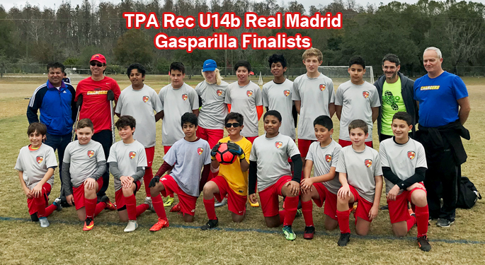 TPA Rec U14b Real Madrid Gasparilla Finalists